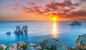 Landscape, Nature, Sunset, Spain, Wallpapers, Hd, Desktop