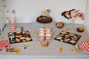 Deco Anniversaire Pirate : tuto pour une d co de table pirate kit my little day ~ Melissatoandfro.com Idées de Décoration