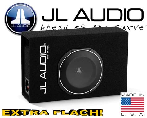 flach subwoofer auto jl audio auto subwoofer bassbox flach cp110lg tw1 2
