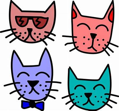 Cat Graffiti Cats Stickers Printable Clipart Clip