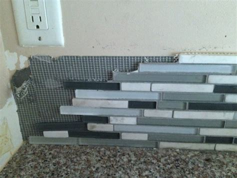 how to remove kitchen tile big dilemma need help removing mosaic backsplash in 7337