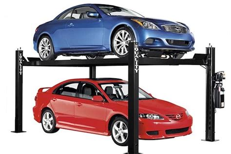 3 Different Low Rise Car Lift Options