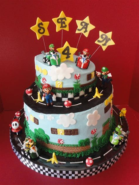 super mario birthday cakecentralcom