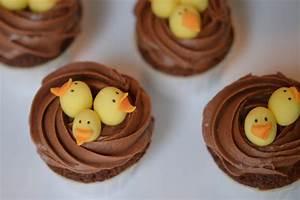 Dessert Paques Original : cupcakes nids de p ques au chocolat sans gluten ~ Dallasstarsshop.com Idées de Décoration
