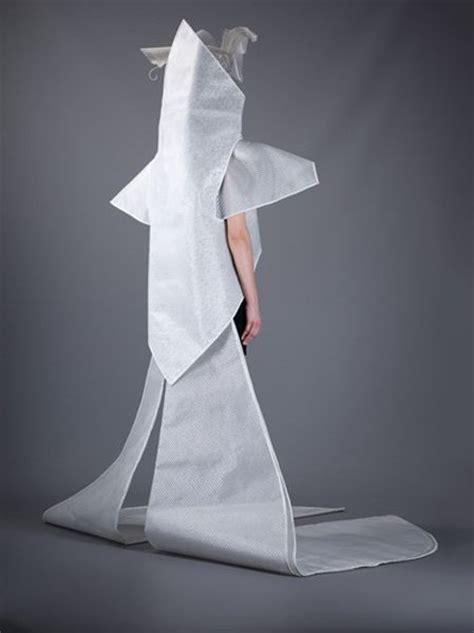 paco rabanne futuristic wedding dress  white silver lyst