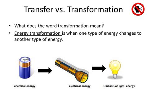 Thermal Energy Transformation Examples