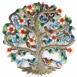 Baum Mit Blüten : eisen ornament baum mit v geln und bl ten i f r 59 euro i jetzt kaufen ~ Frokenaadalensverden.com Haus und Dekorationen