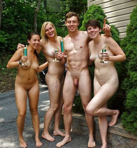 Casual Nudity Father Erection At Home