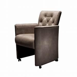 Chaise à Roulettes : chaise roulettes en tissu leonor achat de meuble design ~ Melissatoandfro.com Idées de Décoration