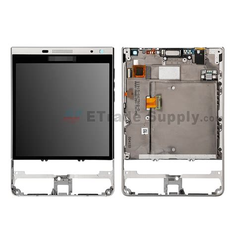 BlackBerry Passport Silver Edition LCD Assembly with Frame ...