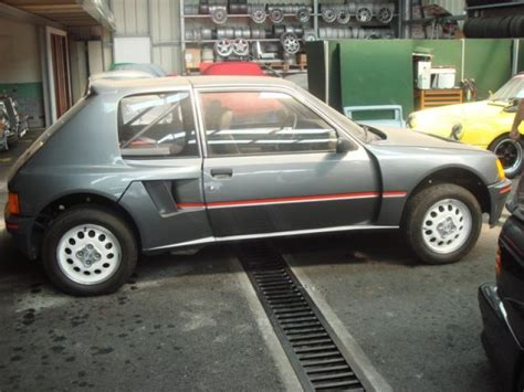 Peugeot 205 T16 For Sale by 1984 Peugeot 205 T16 Evo For Sale Classic Car Ad From