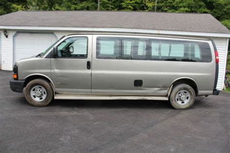 sell   chevy express  extended  passenger