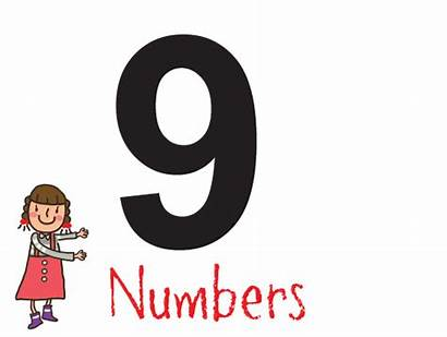 Number Nine Numbers Counting Chinese 数字 Learning