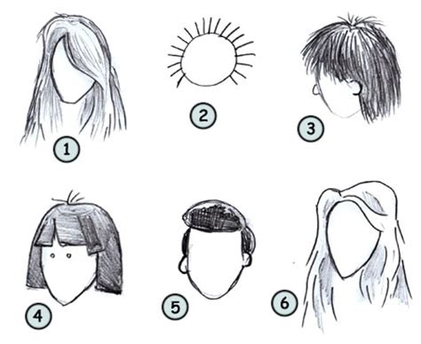 Draw Cartoon People Hair