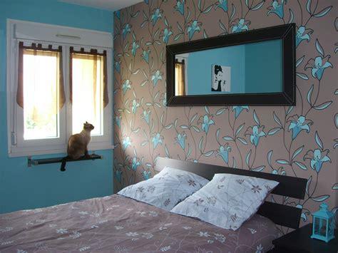 chambre turquoise et noir déco chambre turquoise et marron
