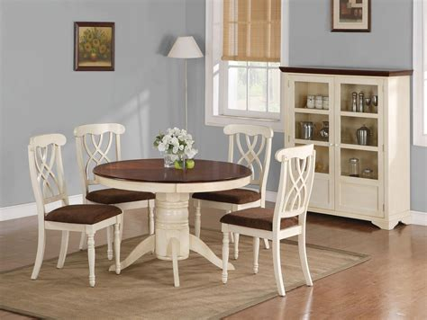cintra reclaimed wood white expandable  dining table