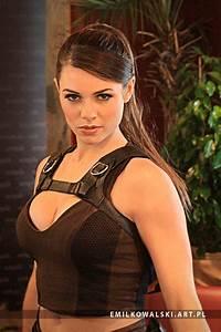 Alison Carroll as Lara Croft from Tomb Raider II by ...