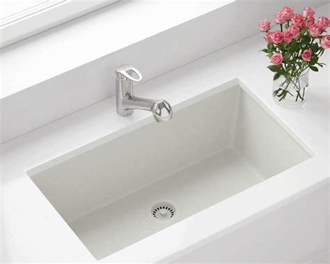 antique kitchen 848 white large single bowl undermount trugranite kitchen sink