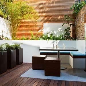 16 idees et astuces pour amenagement de jardin moderne With meubles pour petits espaces 16 plantations du jardin moderne jardin autres