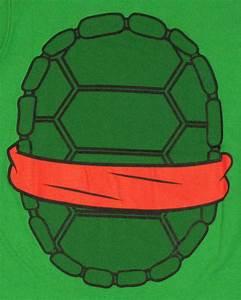 ninja turtles raphael costume baby tee With ninja turtle shell template