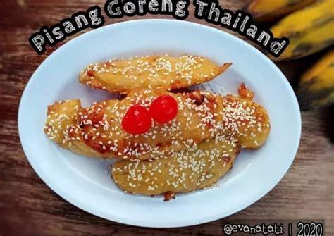 5 potong ayam 50 gram cabe hijau di uleg kasar ( jumlah bisa ditambah … Resep Pisang Goreng Thailand oleh Evana Tati - Cookpad