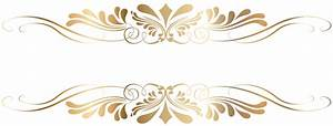 Golden Decorative Element PNG Clip Art Gallery, decorative