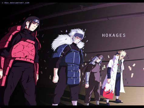 Naruto 618/619 Imágenes A Color De Los Hokagues Edo Tensei