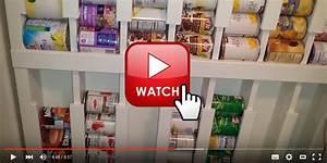 Regal Für Speisekammer : do it yourself tolles regal f r konservendosen konservendosen schrank selber bauen und ~ Watch28wear.com Haus und Dekorationen