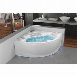 Baignoire Et Bulles : baignoire balneo 2 places pas cher ~ Premium-room.com Idées de Décoration
