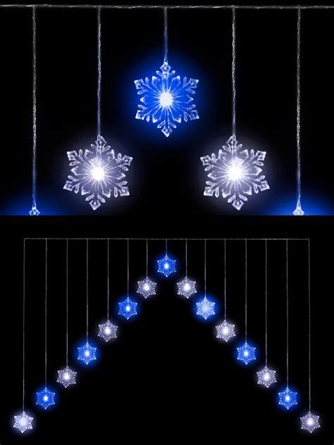snowflake  curtain light  led christmas window