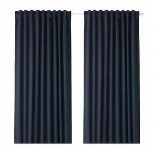 Rideaux Occultants Ikea : majgull rideaux occultant 1 paire ikea ~ Teatrodelosmanantiales.com Idées de Décoration