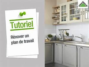 Coller Un Plan De Travail Sur Du Carrelage : comment r nover son plan de travail relooking cuisine ~ Dailycaller-alerts.com Idées de Décoration