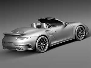 2016 Porsche 911 Turbo S Convertible