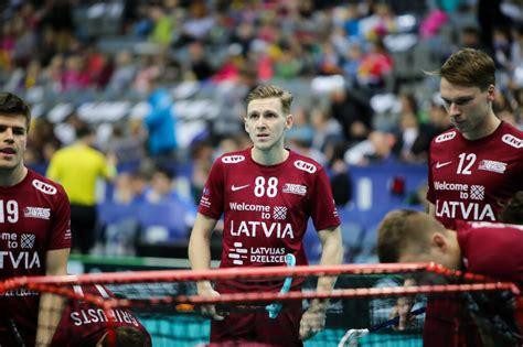 Latvijas vīriešu izlase pasaules čempionātā tiksies ar titulētajām Zviedriju un Somiju ...