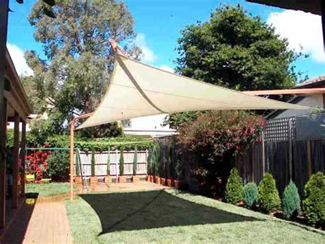 floating shade sails from mulders garden beds