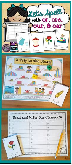 ore   oar spelling games  centers