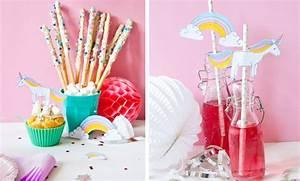 Party Deko Ideen Selbermachen : diy einhorn deko f r den kindergeburtstag familicious ~ Markanthonyermac.com Haus und Dekorationen