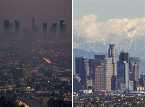 smog thins  la dramatic evidence  kids