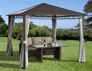 pavillons online kaufen in 3x3 3x4 3x6 4x4 rund otto With französischer balkon mit sonnenschirm wasserdicht 4m