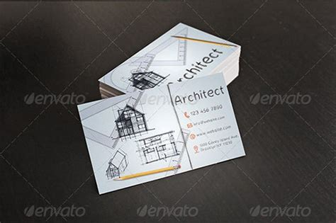 architecture  construction business card