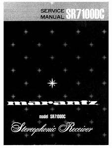 Marantz Sr7100dc Service Manual  U0026 Technicians Guide