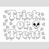 Trick Or Treat Bag Coloring Pages | 1151 x 826 jpeg 129kB