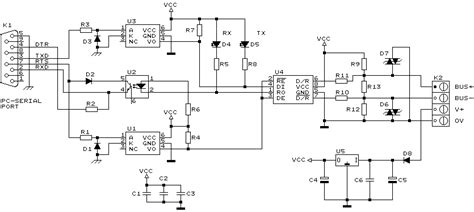 communication rs485 to rs232 conversion electrical engineering stack exchange