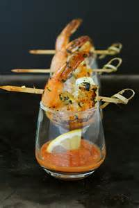 Shrimp Cocktail Presentation