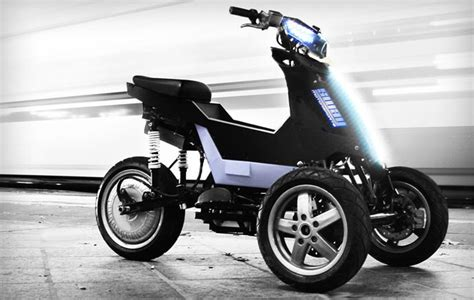Electric Three Wheel Motorcycle