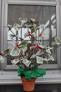 Money Tree we made | Ideas | Money cake, DIY Gifts, Money ...