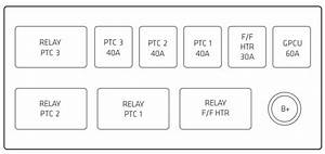 Chevrolet Captiva  2012 - 2015  - Fuse Box Diagram