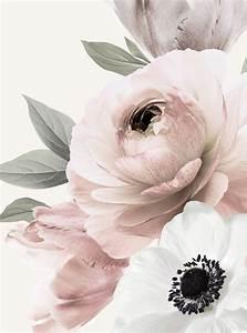 Floral, Mural, Wall, Art, Wallpaper