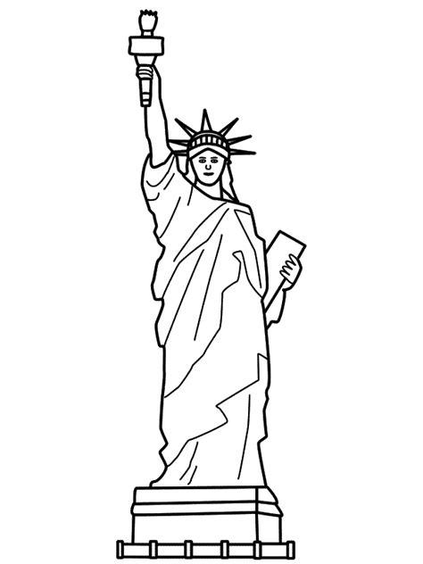 statue  liberty drawing   clip art  clip art  clipart library