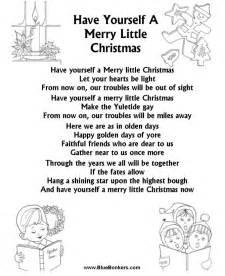 Merry Little Christmas Lyrics